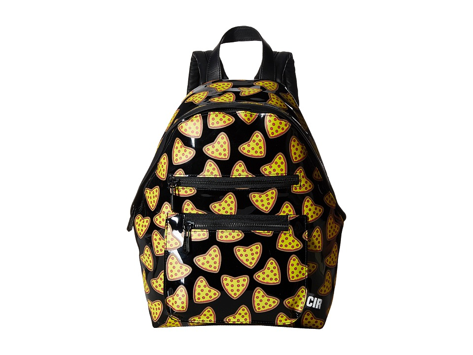 Circus by Sam Edelman - Hudson Backpack (Pizza Print/Clear) Backpack Bags