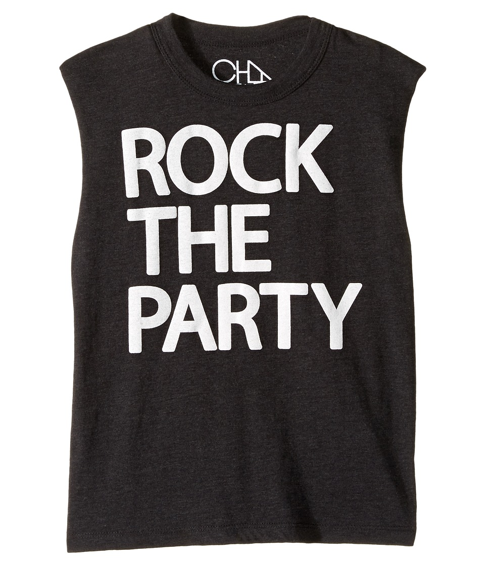 Chaser Kids - Vintage Jersey Muscle Tee (Little Kids/Big Kids) (Rock the Party) Boy's T Shirt
