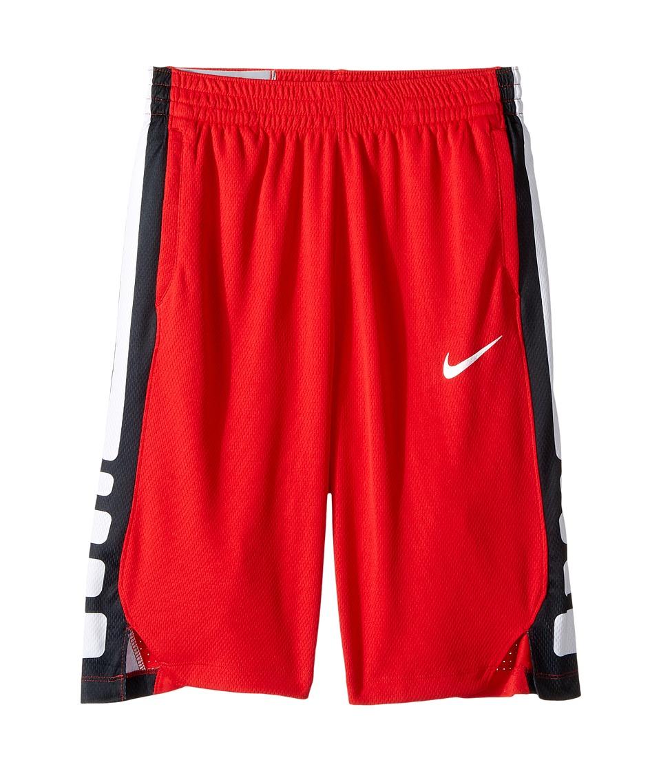 Nike Kids - Dry Elite Basketball Short (Little Kids/Big Kids) (Smokey Blue/Smokey Blue/Black/Black) Boy's Shorts