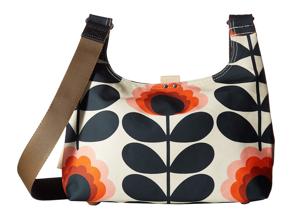Orla Kiely - Summer Flower Stem Mini Sling Bag (Sunset) Handbags