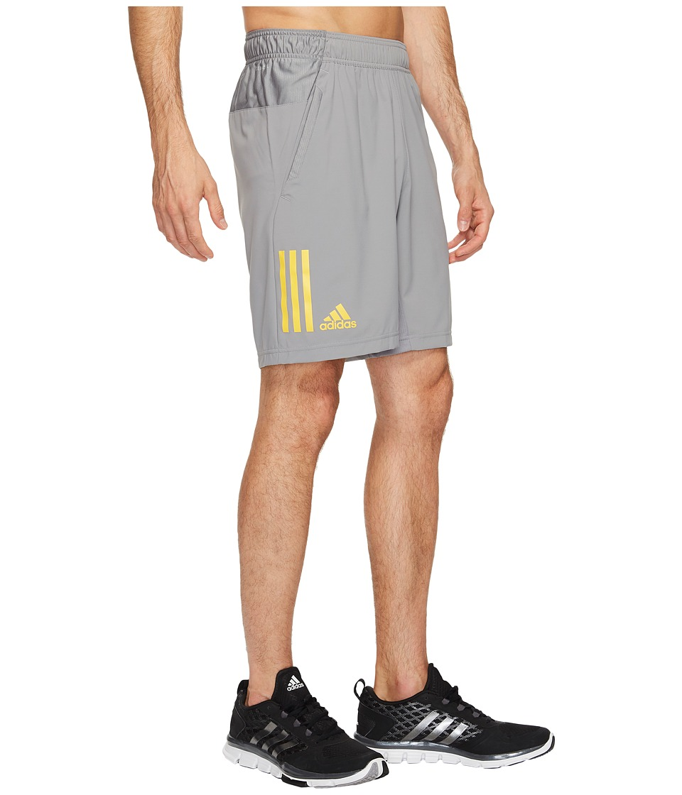 adidas - Club Shorts (Grey/EQT Yellow) Men's Shorts