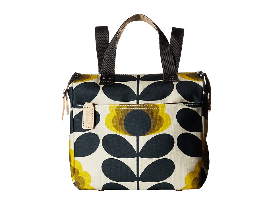 Orla Kiely - Summer Flower Stem Small Backpack (Sunshine) Backpack Bags