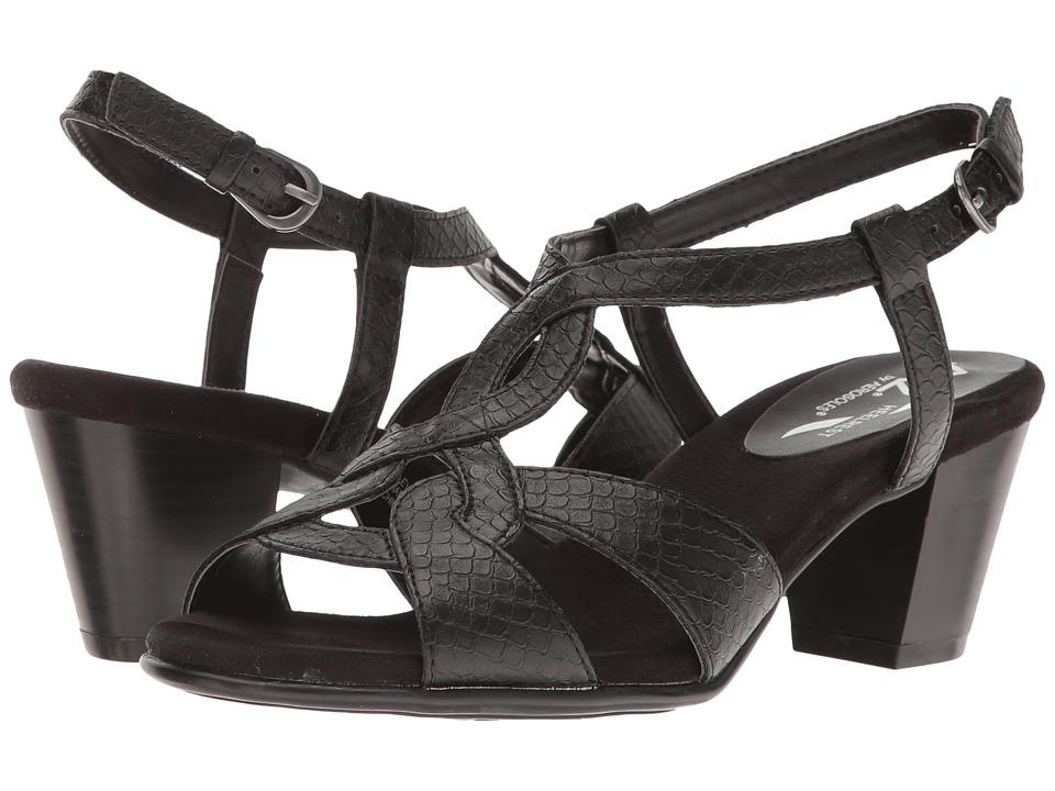 A2 by Aerosoles - Base Level (Black Snake) Women's Shoes