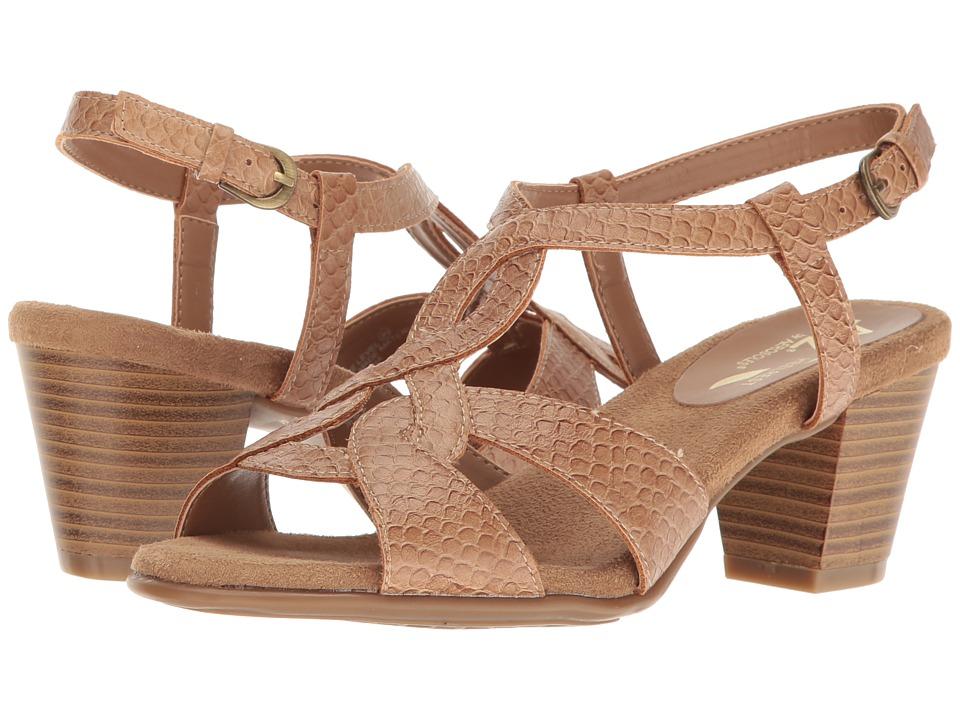 A2 by Aerosoles - Base Level (Tan Snake) Women's Shoes