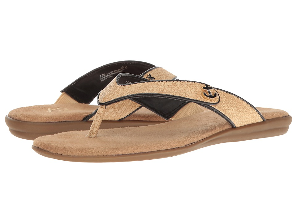 A2 by Aerosoles Chlear Sailing (Black/Gold Combo) Women