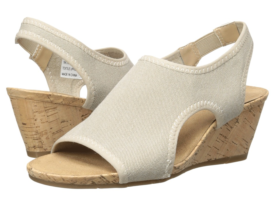 A2 by Aerosoles - Coffee Cake (Natural Fabric) Women's Shoes