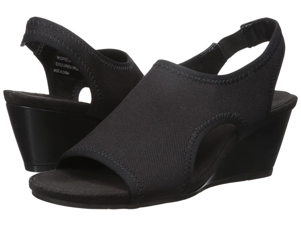 A2 by Aerosoles - Coffee Cake (Black Fabric) Women's Shoes