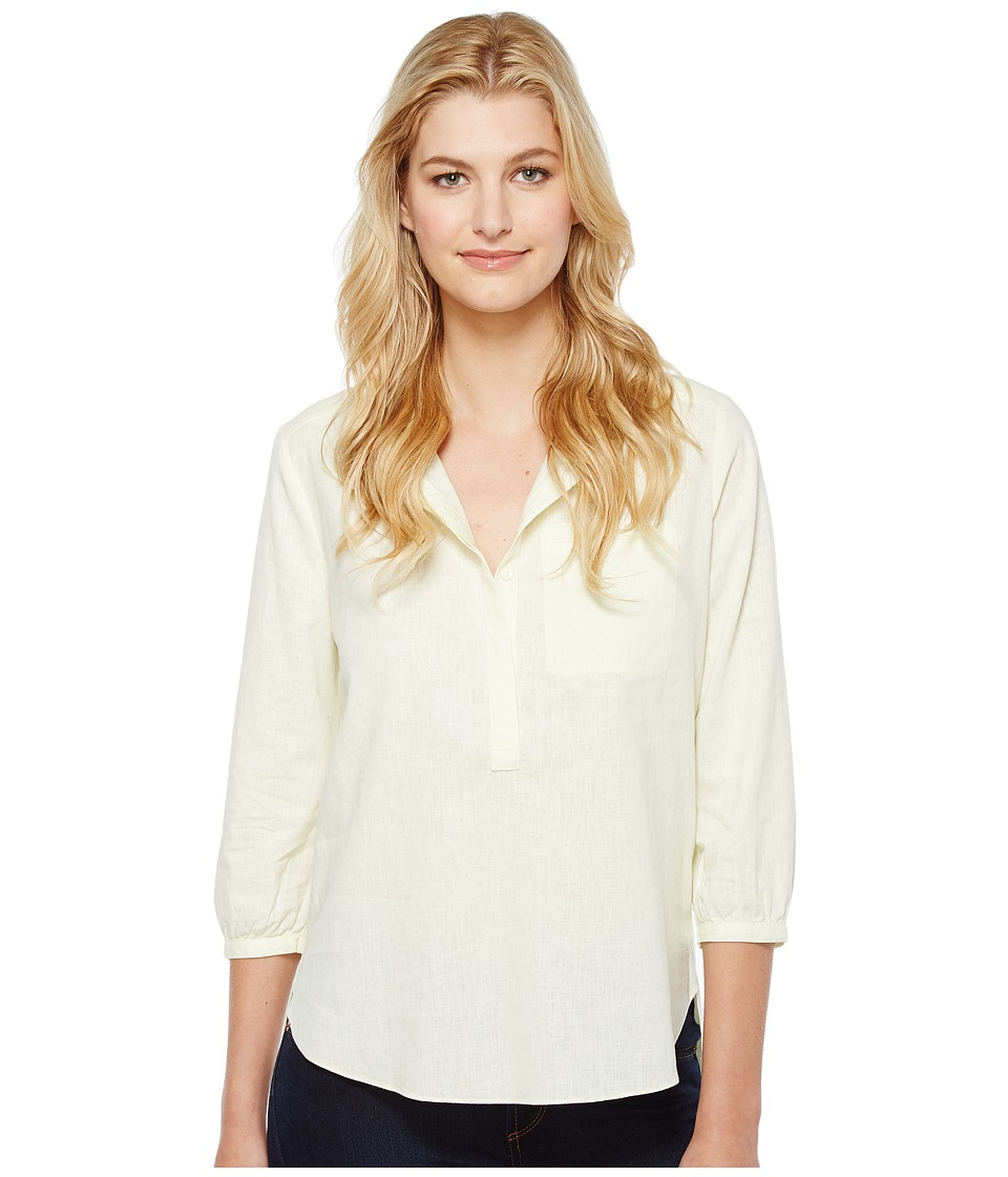 NYDJ - Linen Pleat Back Blouse (Soleil) Women's Blouse