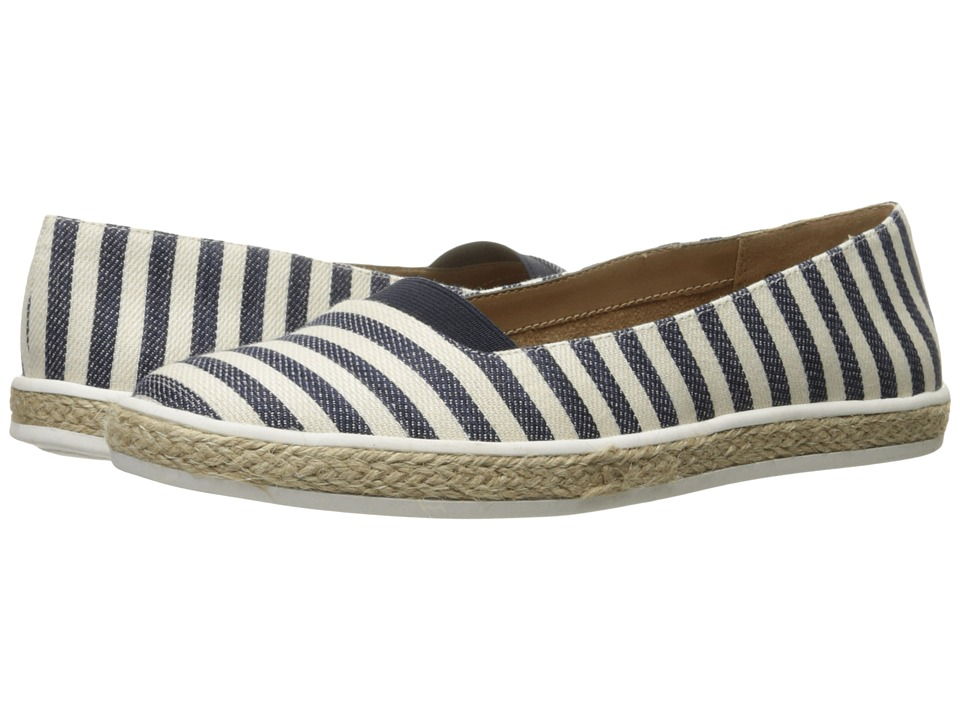 A2 by Aerosoles - Funny Bone (Navy Stripe) Women's Shoes
