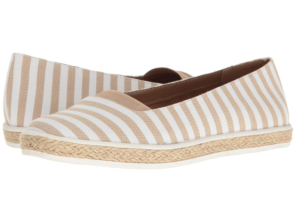 A2 by Aerosoles - Funny Bone (Tan Stripe) Women's Shoes