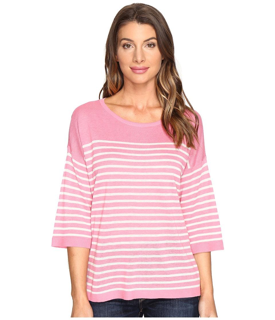 NYDJ - Serra Sweater (Natural Bisou Pink) Women's Sweater