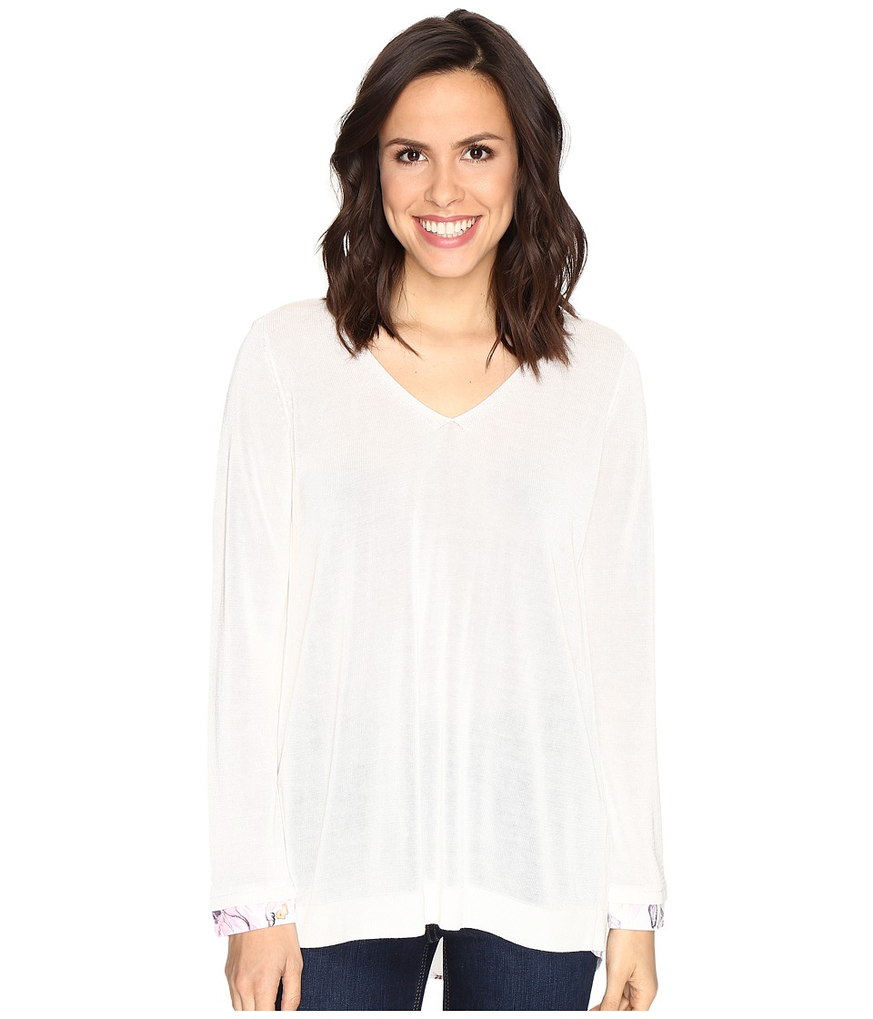 NYDJ - Twofer Sweater (Sugar) Women's Sweater