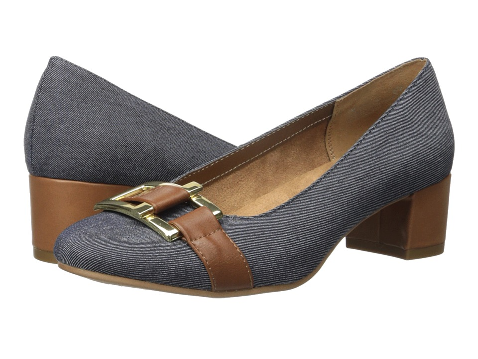 A2 by Aerosoles - Sketch Pad (Denim Fabric) Women's Shoes