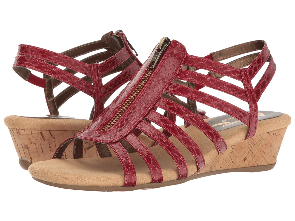 A2 by Aerosoles - Yetaway (Red Snake) Women's Shoes