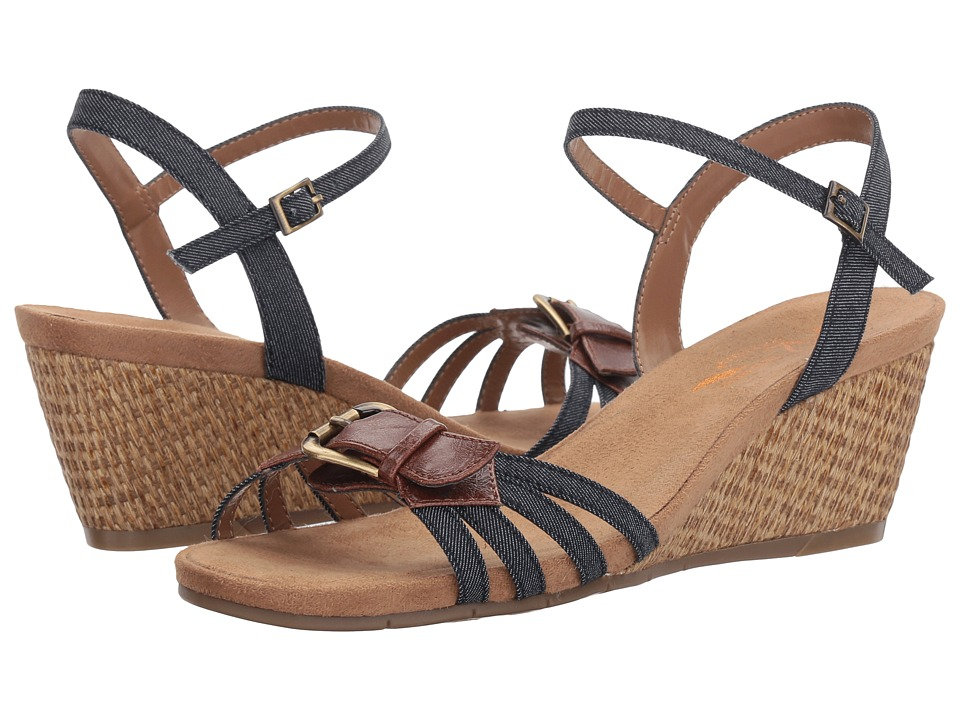 A2 by Aerosoles - Crumb Cake (Denim Combo) Women's Shoes