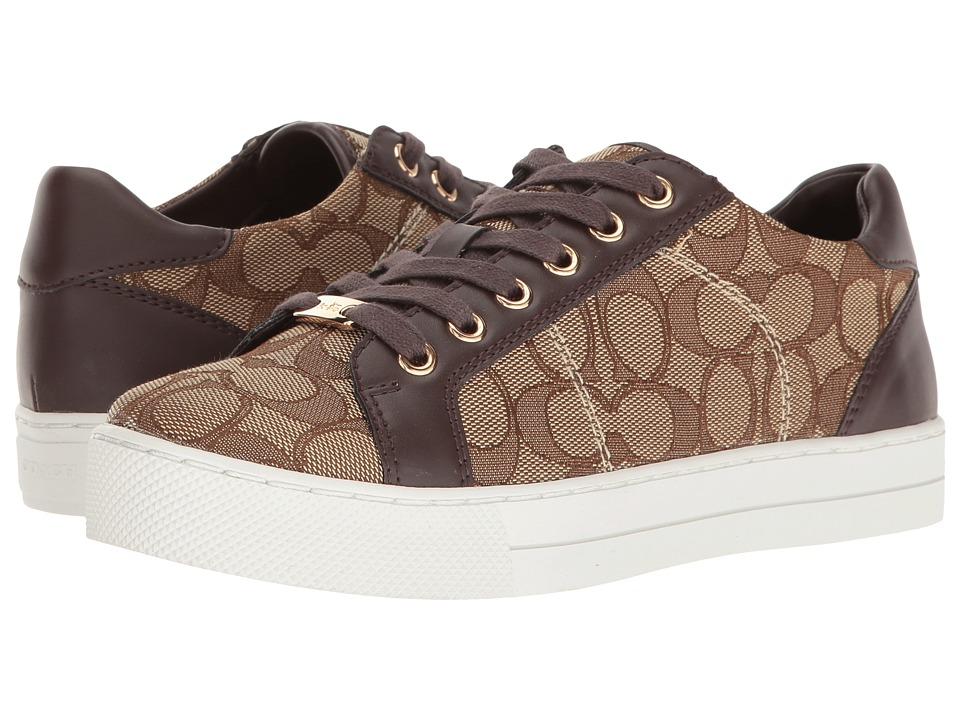COACH - Paddy (Khaki/Chestnut) Women's Shoes