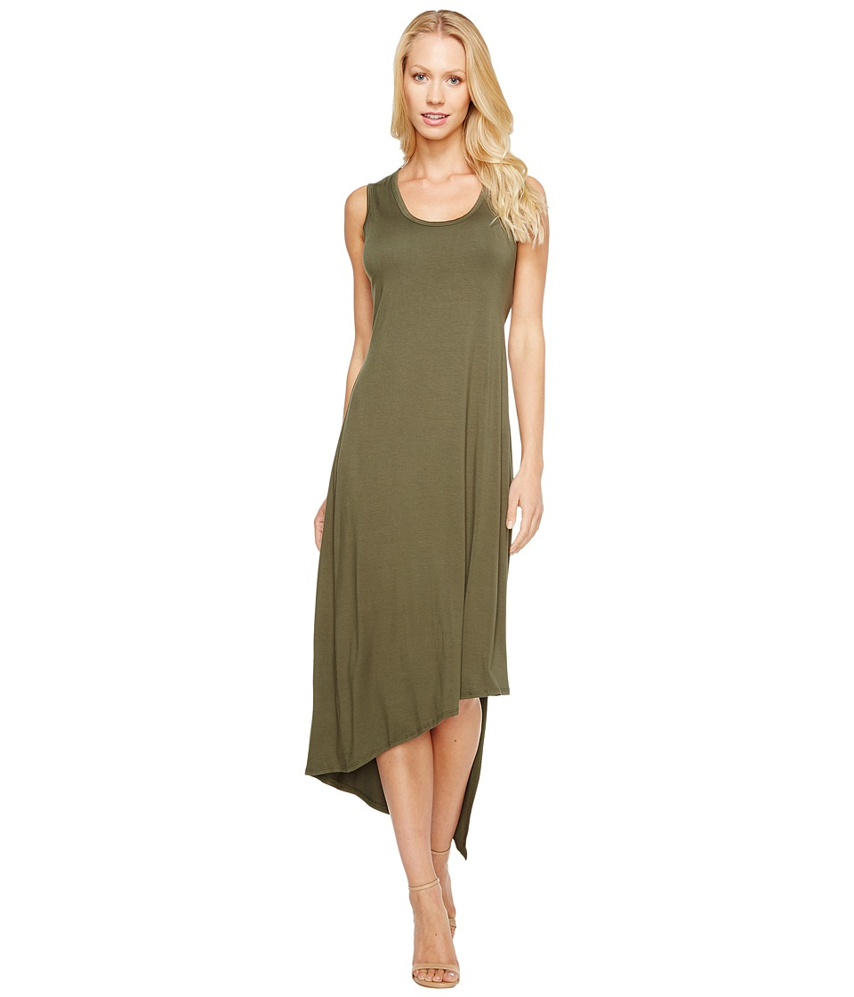 Karen Kane - Stevie Tank Dress (Olive) Women's Dress