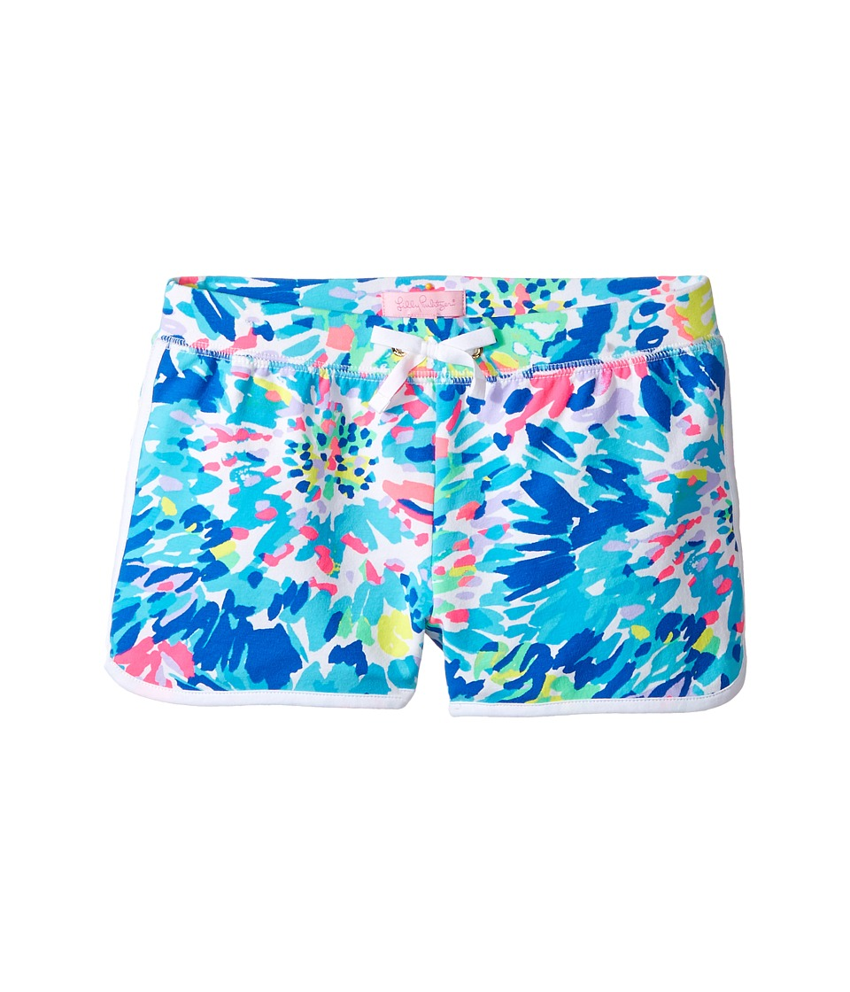 Lilly Pulitzer Kids - Little Chrissy Shorts (Toddler/Little Kids/Big Kids) (Multi Dive in Reduced) Girl's Shorts