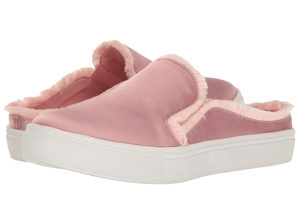 Dirty Laundry - Jaxon Satin Mule Sneaker (Dusty Rose) Women's Slip on Shoes