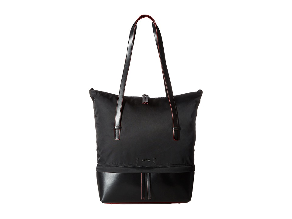 Lodis Accessories - Kate Nylon Barbara Commuter Tote (Black) Tote Handbags