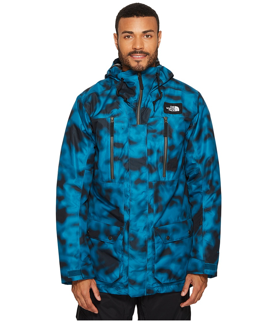 The North Face Hexsaw Jacket (Egyptian Blue Blurmo Print) Men