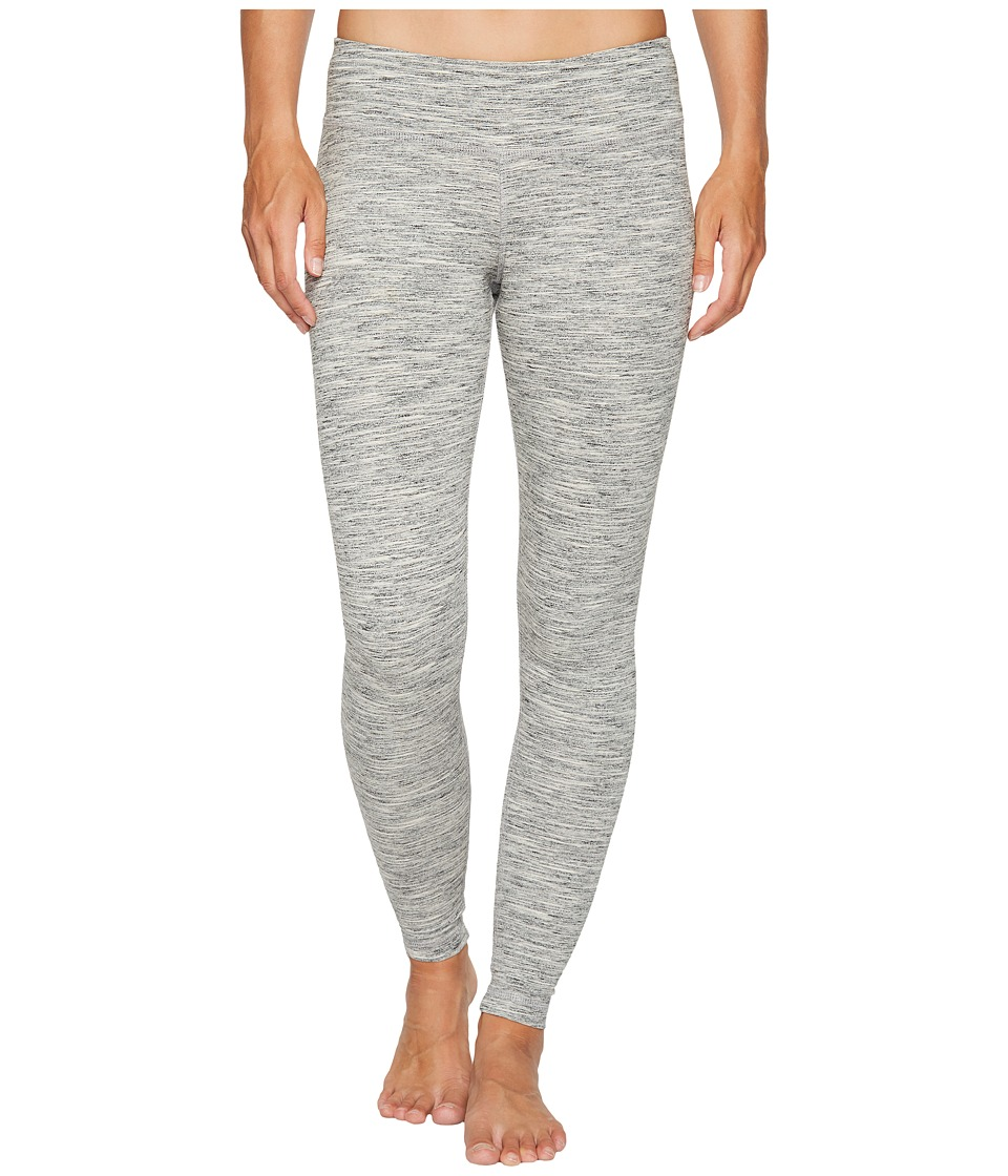 Reebok - Elements Marble Melange Leggings (Chalk) Women's Workout
