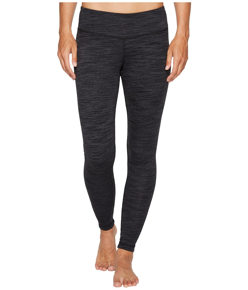 Reebok - Elements Marble Melange Leggings (Black) Women's Workout