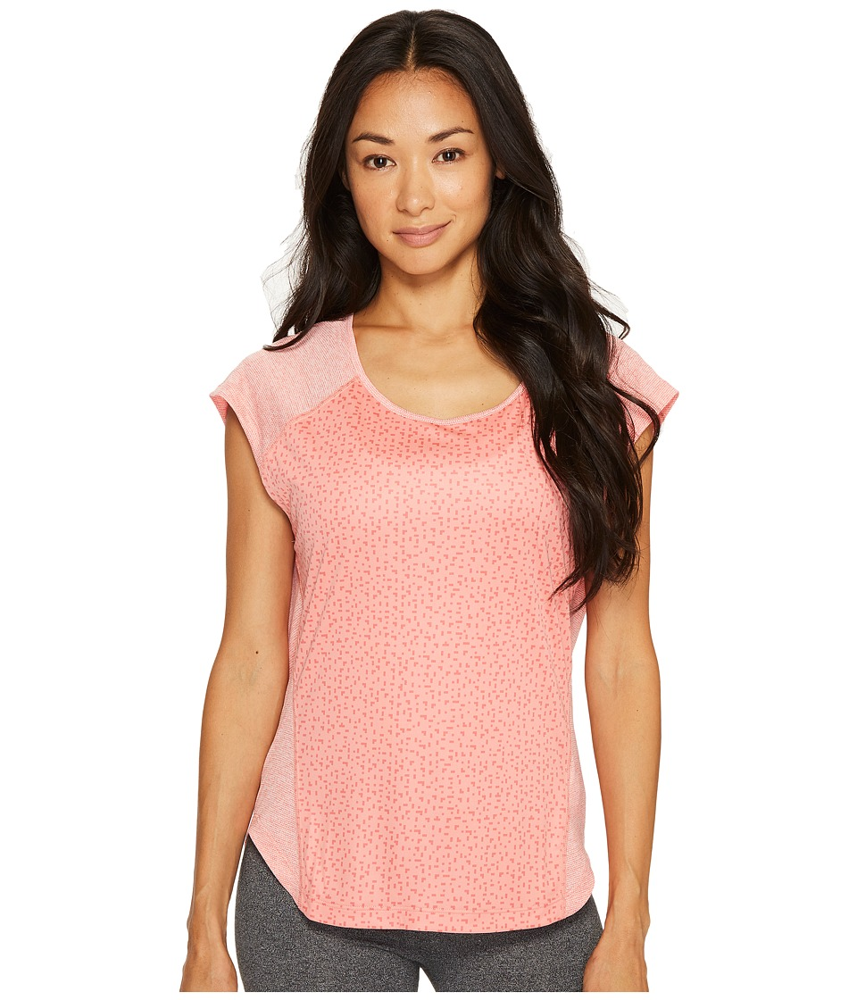 adidas - Supernova Tokyo Short Sleeve Tee (Tactile Rose/Tactile Pink) Women's Short Sleeve Pullover