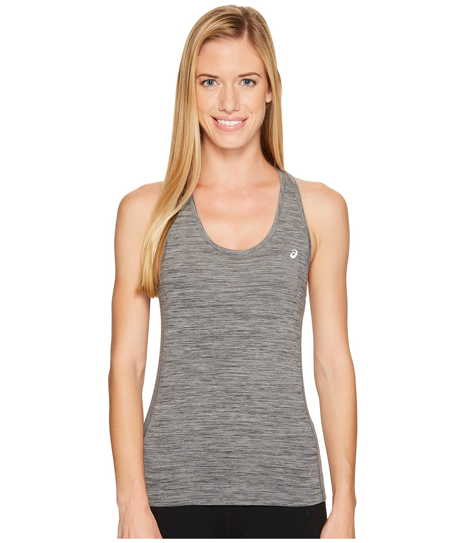 ASICS - ASX Dry Tank Top (Medium Grey Heather) Women's Sleeveless