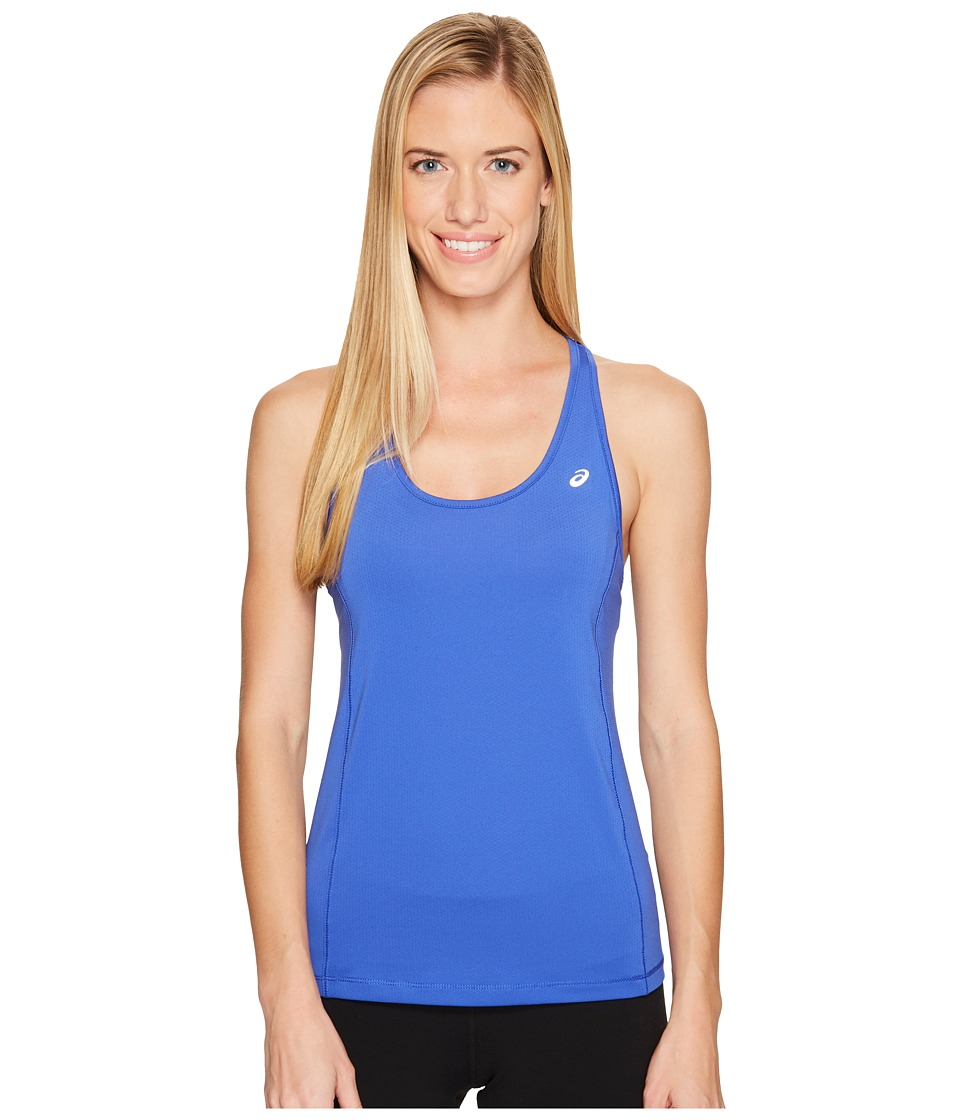 ASICS - Emma Racerback Tank Top (Blue Purple) Women's Sleeveless