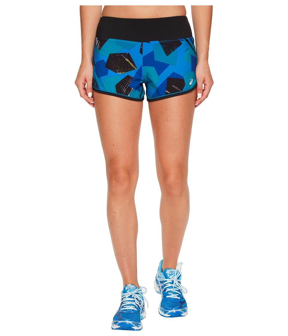 ASICS - Everysport Shorts (Regatta Blue Shape Collision) Women's Shorts