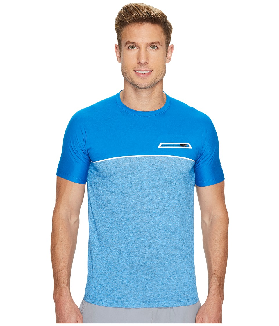 ASICS - fuseX Short Sleeve Top (Directoire Blue) Men's T Shirt