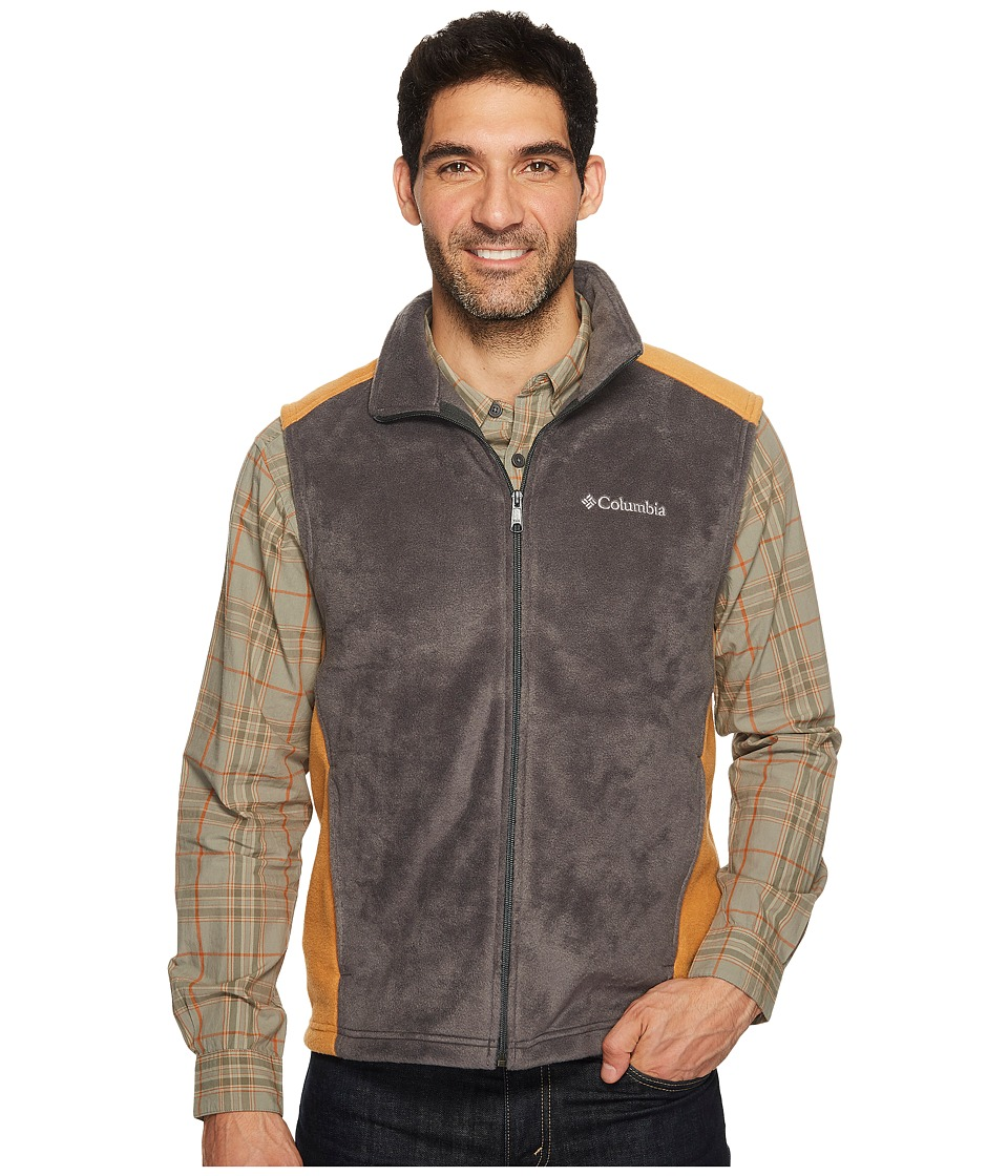 Columbia - Steens Mountain Vest (Shark/Canyon Gold) Men's Vest