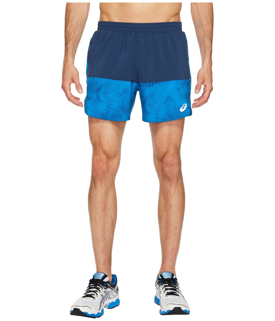 ASICS - Everyday 5 Shorts (Insignia Blue/Directoire Blue Atmosphere) Men's Shorts