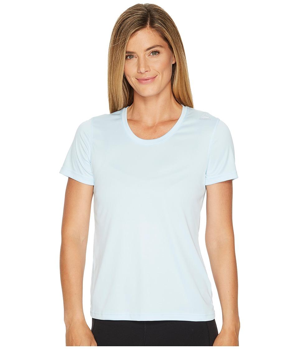Reebok - Running Tee (Fresh Blue) Women's T Shirt