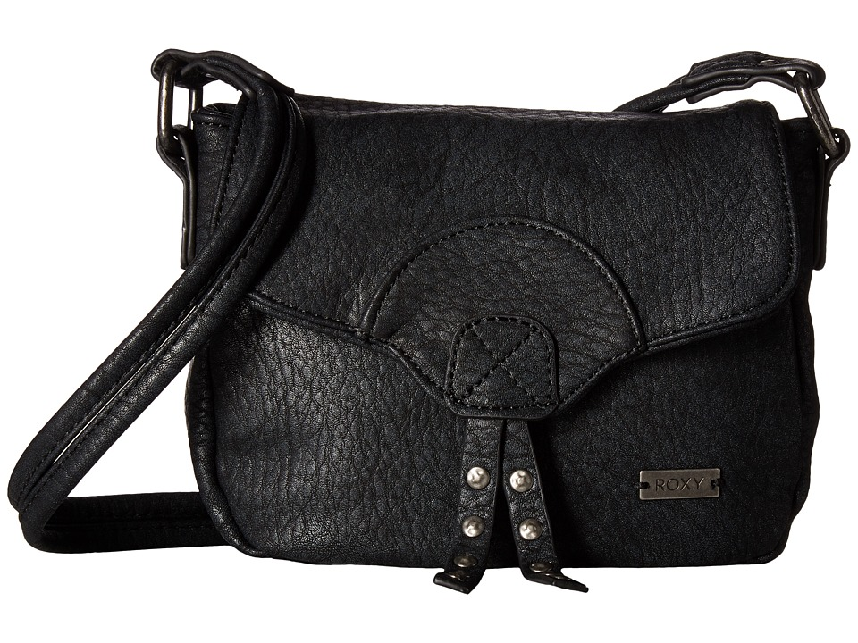 Roxy - From My Heart Crossbody (Anthracite) Cross Body Handbags