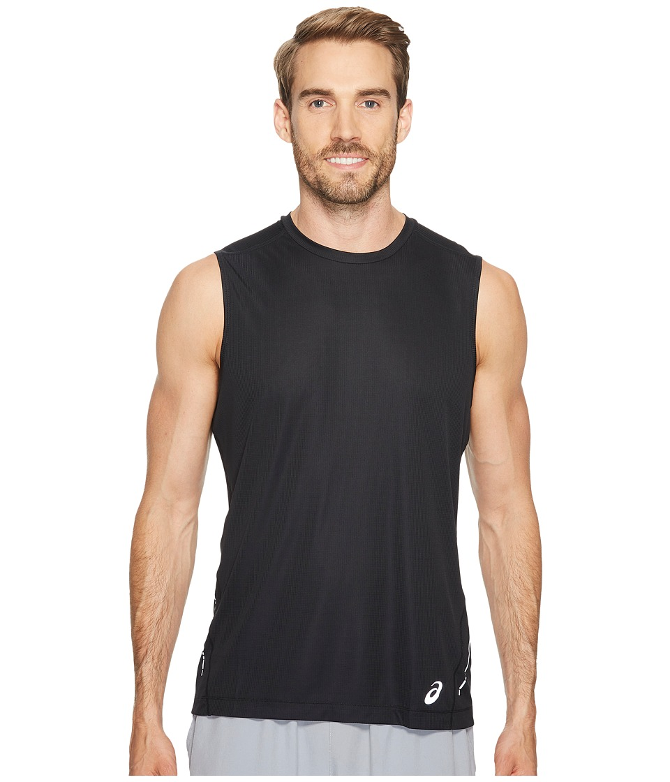 ASICS - Sleeveless Top (Performance Black) Men's Workout