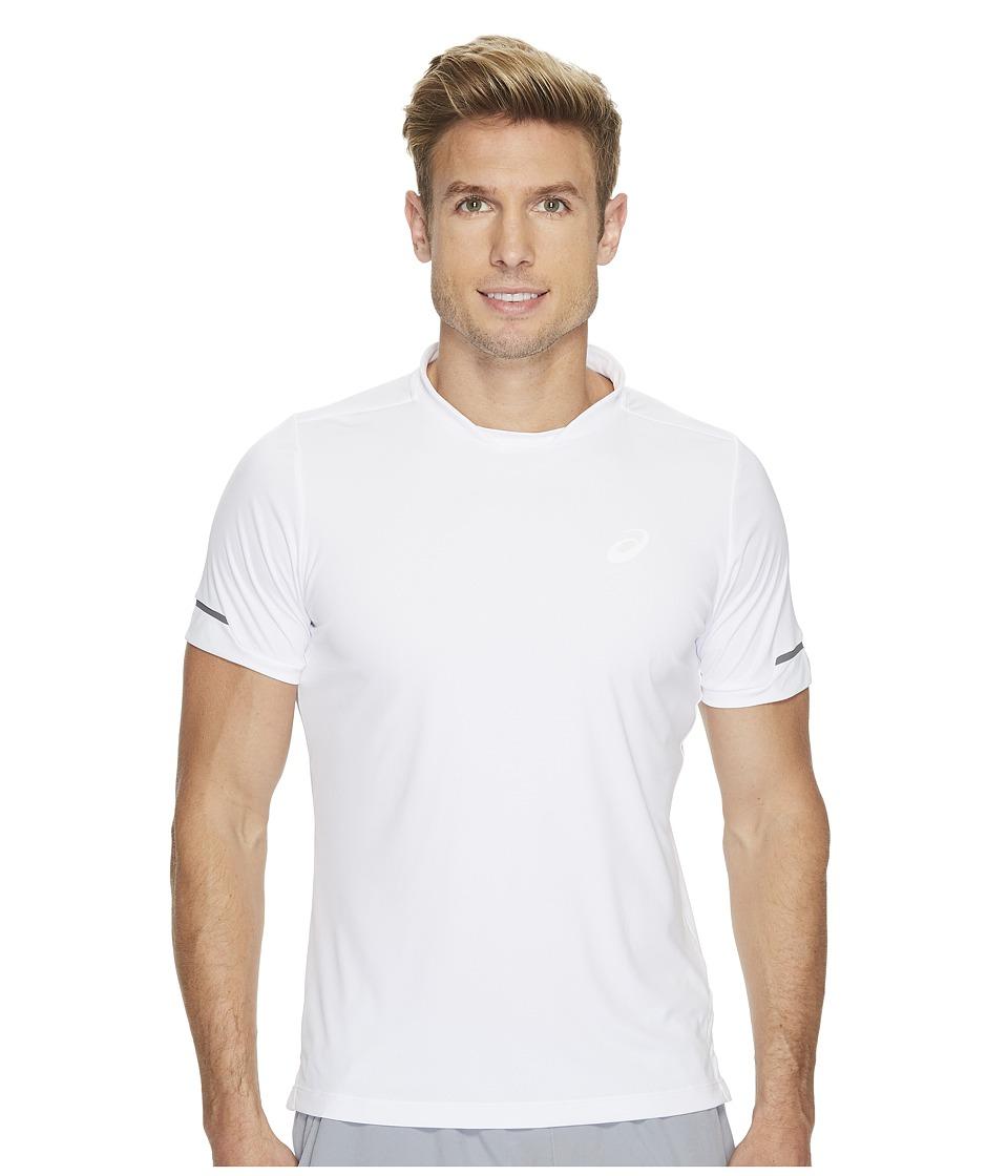 ASICS Athlete Short Sleeve Top (Real White) Men