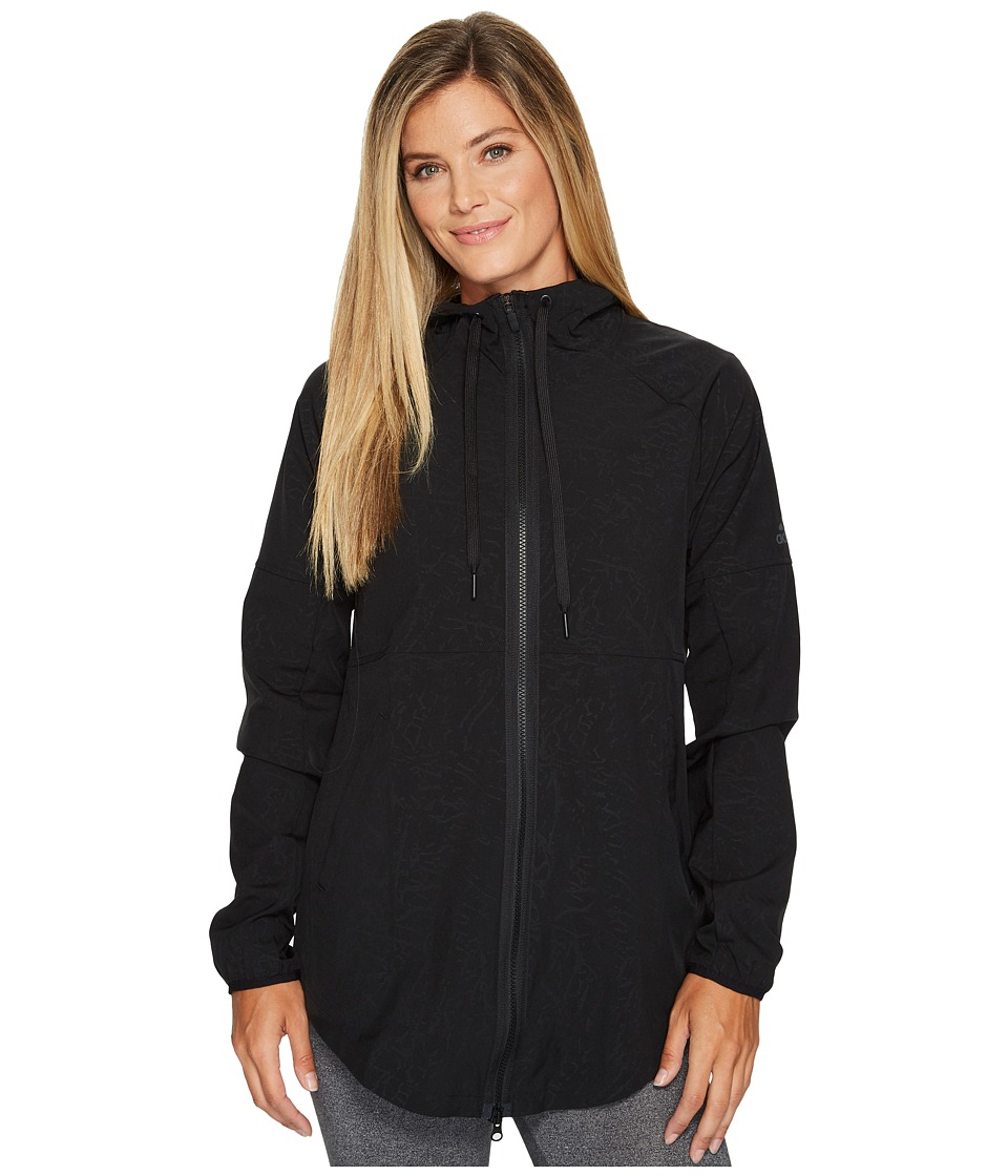 adidas - Sport2Street Windbreaker (Black) Women's Coat