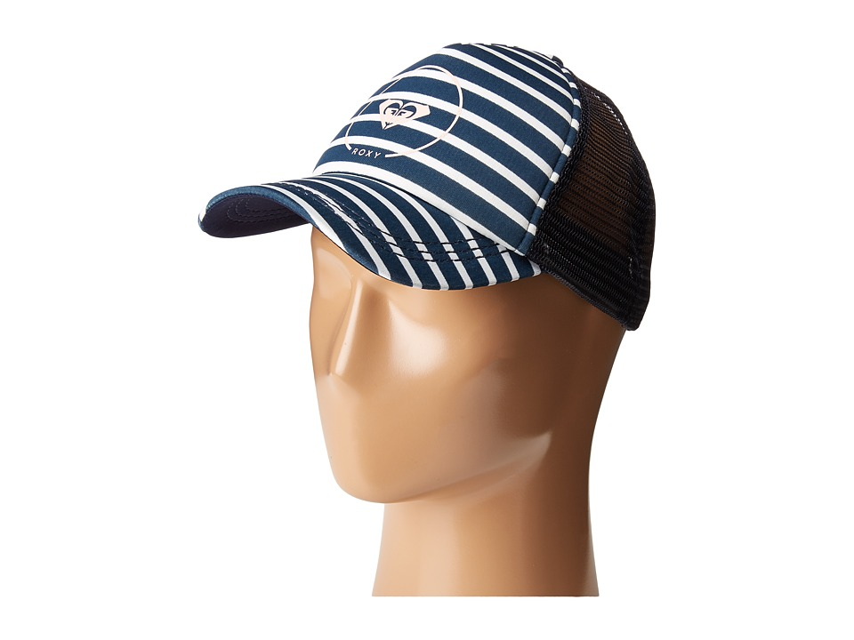 Roxy - Truckin (Dress Blues Friday Stripe) Caps