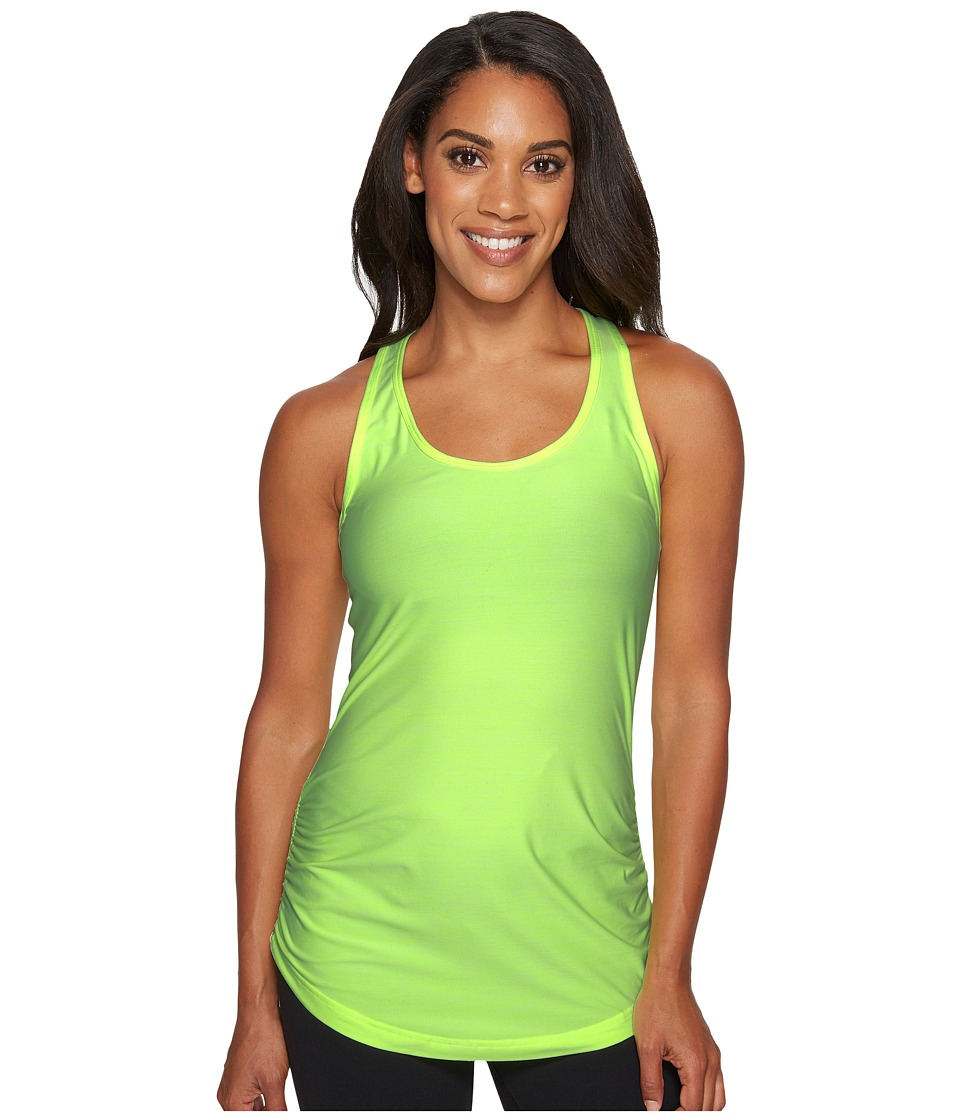 New Balance - Perfect Tank Top (Bleached Lime Glo Heather) Women's Sleeveless