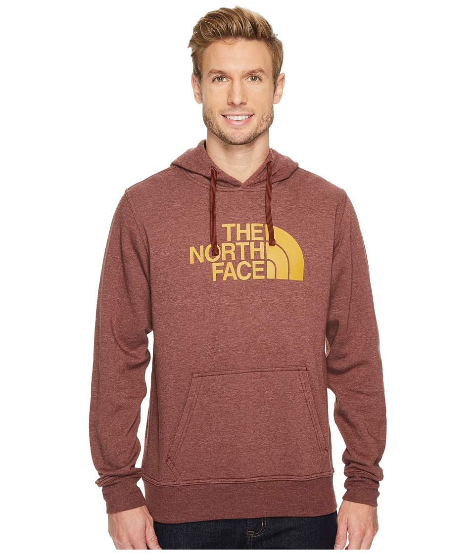 The North Face Half Dome Hoodie (Sequoia Red Heather/Arrowwood Yellow) Men