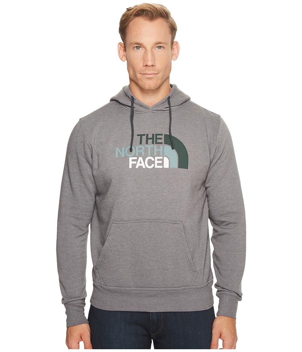 The North Face Half Dome Hoodie (TNF Medium Grey Heather/Darkest Spruce Multi) Men