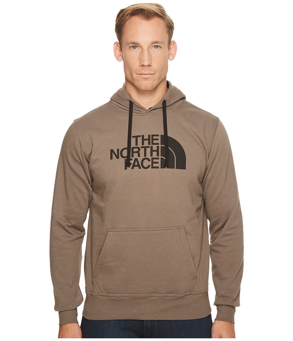 The North Face - Half Dome Hoodie (Falcon Brown/TNF Black) Men's Long Sleeve Pullover