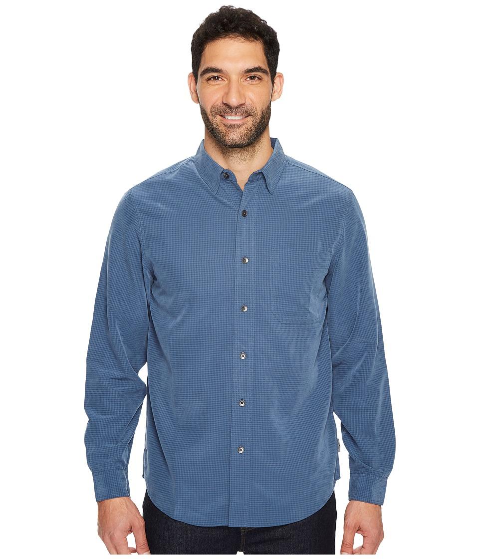 Royal Robbins Desert Pucker L/S Shirt (Collins Blue) Men