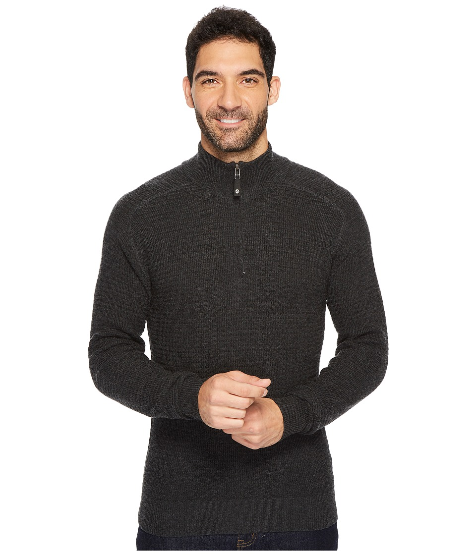Royal Robbins All Season Merino Thermal 1/4 Zip (Charcoal) Men