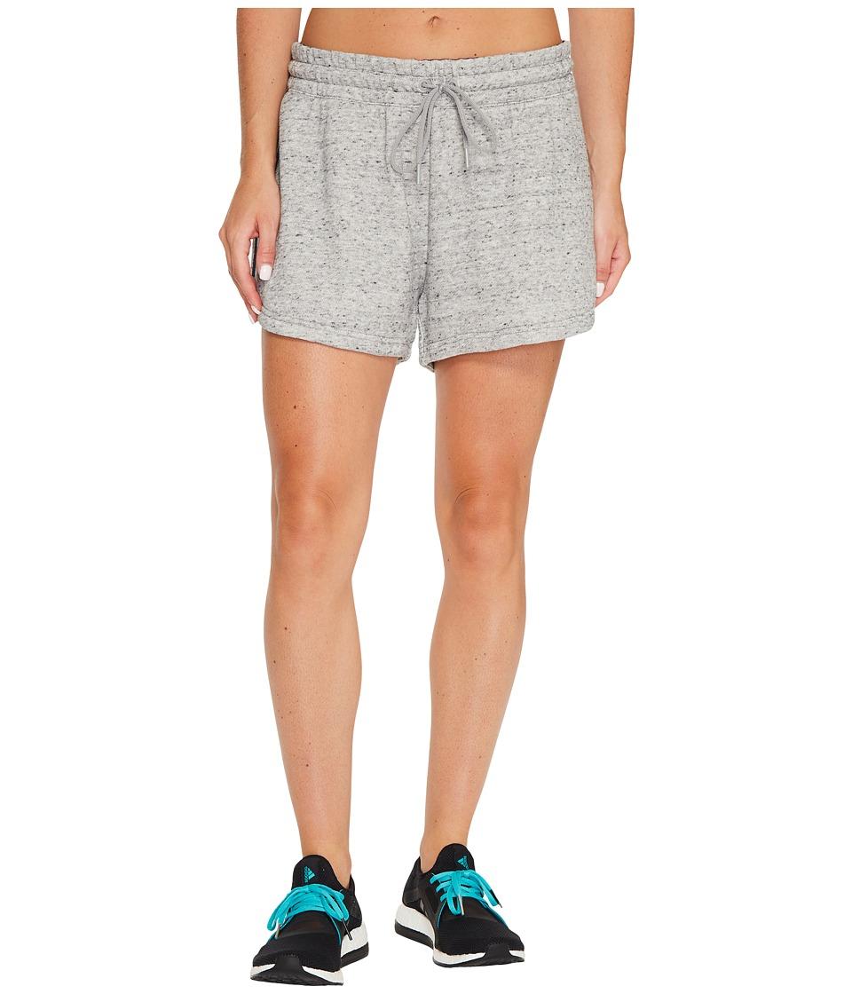 adidas - Sport2Street Shorts (Medium Grey Heather) Women's Shorts
