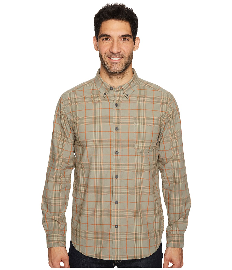 Columbia - Rapid Rivers II Long-Sleeve Shirt (Bright Cooper Plaid) Men's Long Sleeve Pullover