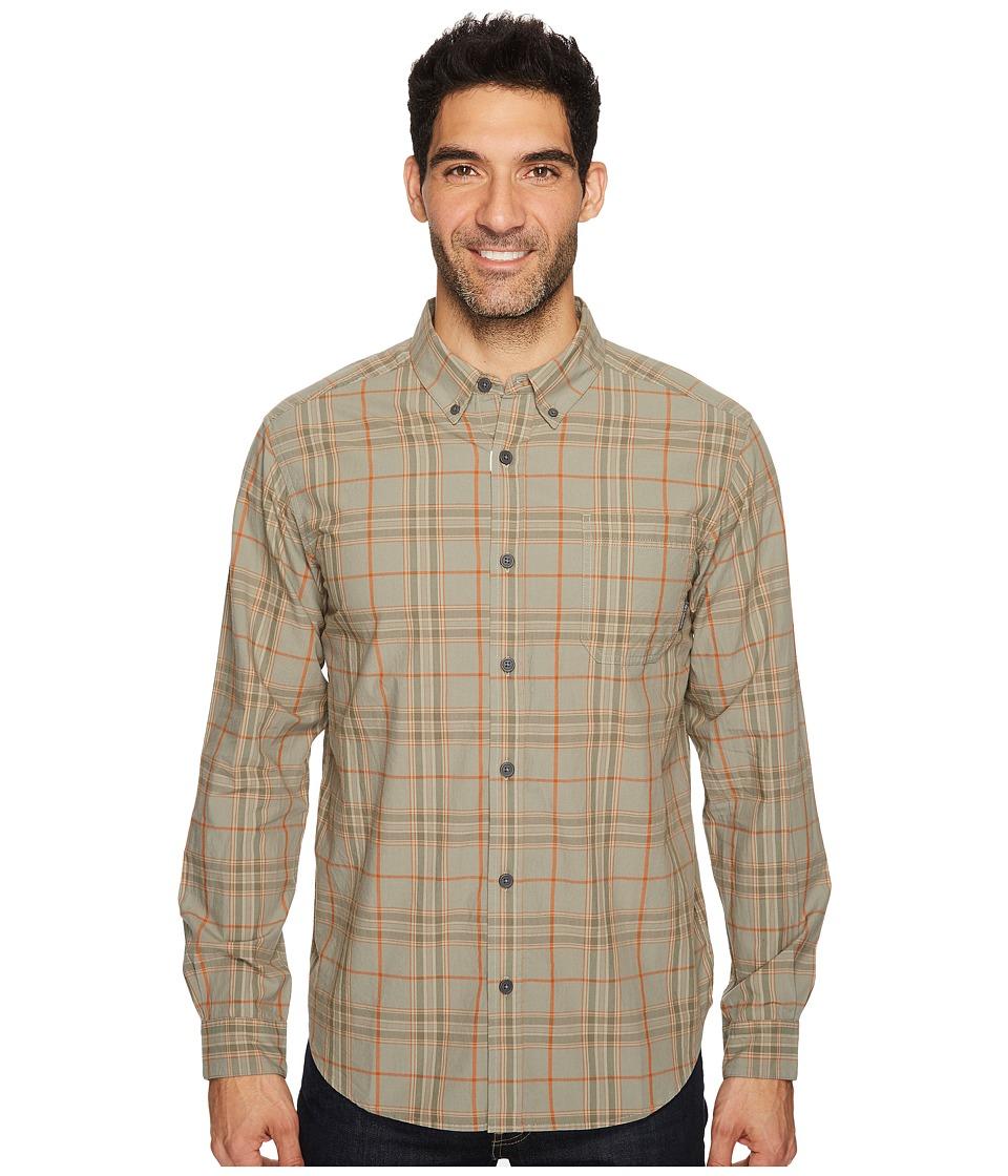 Columbia - Rapid Rivers II Long-Sleeve Shirt (Bright Cooper Plaid) Men's Long Sleeve Pullover