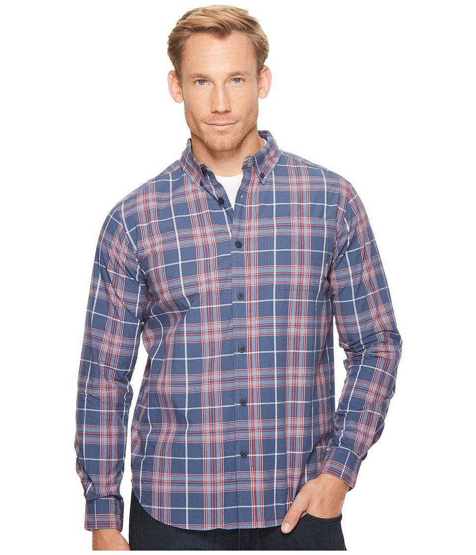 Columbia - Rapid Riverstm II Long-Sleeve Shirt (Dark Mountain Plaid) Men's Long Sleeve Pullover